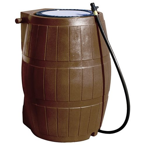 RC 4000 Rain Barrel Flat Back