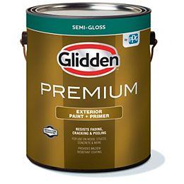 Exterior Paint + Primer Semi-Gloss - White 3.7 L