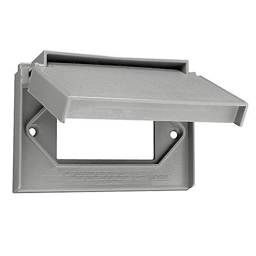 Weatherproof Decora Cover Gray
