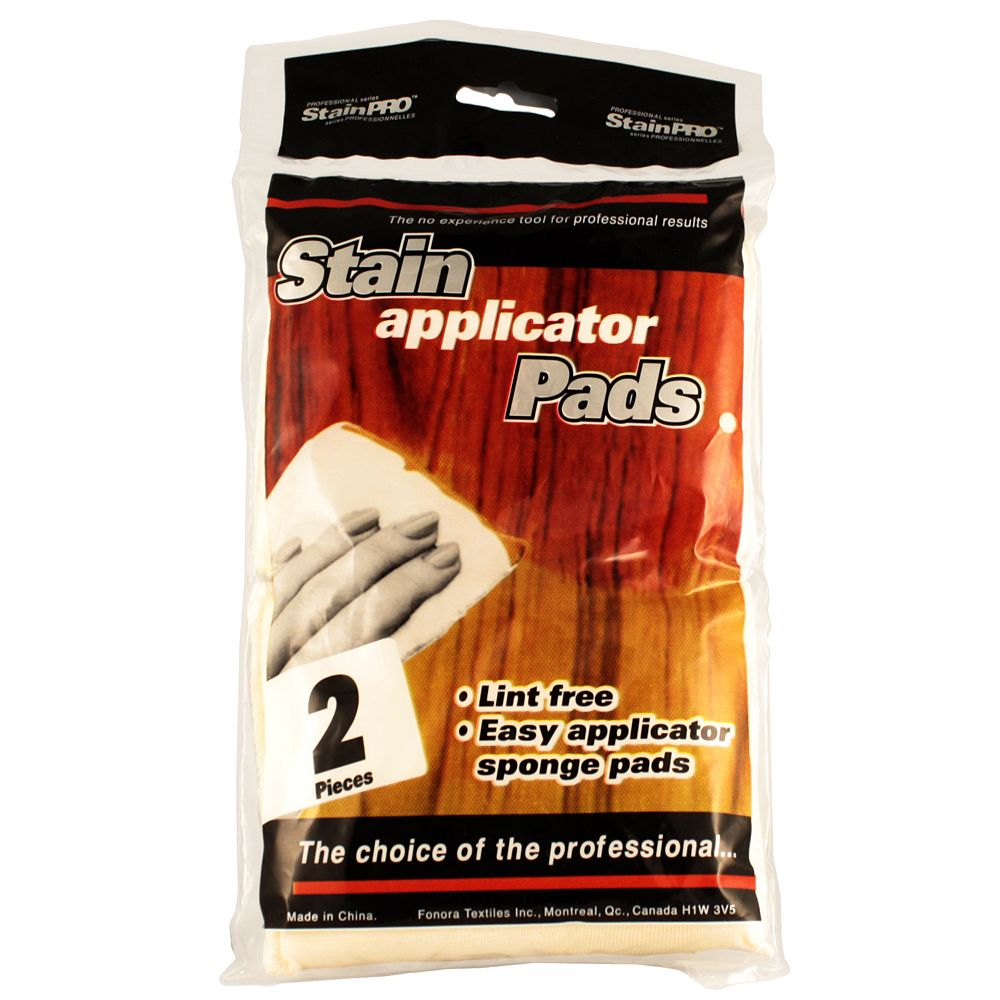 Stain Pro Stain Applicator Pads (2-Pack)