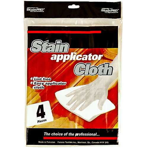 Stain Applicator Cloths (4-Pack)