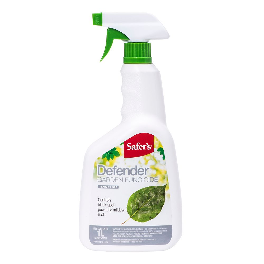 Safer Defender Garden Fungicide 1L Ready-to-Use