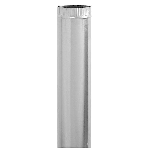 4 x 30 Inch Galvanized Pipe 30 gauge