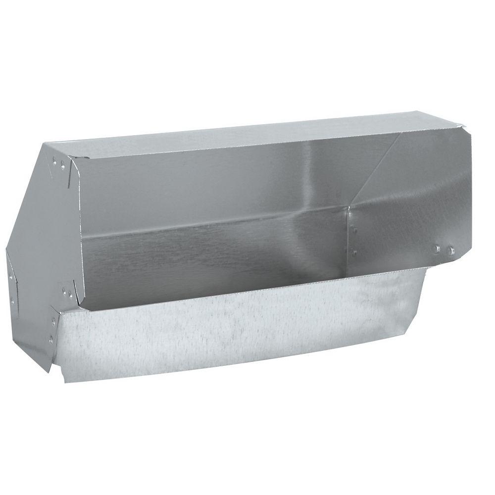 Imperial Coude vertical 90 degrés, 3-1/4x10 pouce