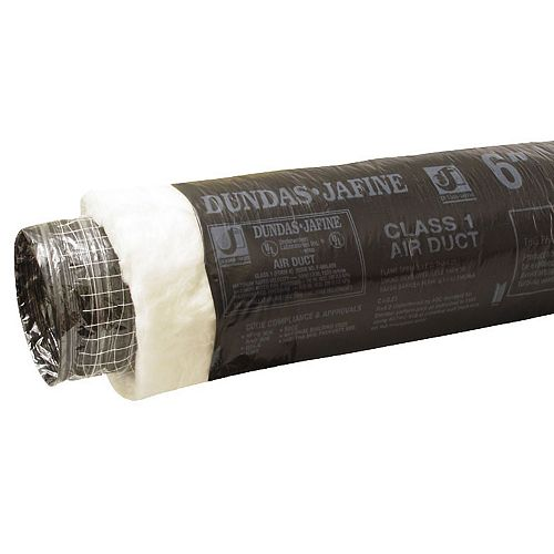 Dundas Jafine Flexible Insulated Ducting 5 inch X 25 foot