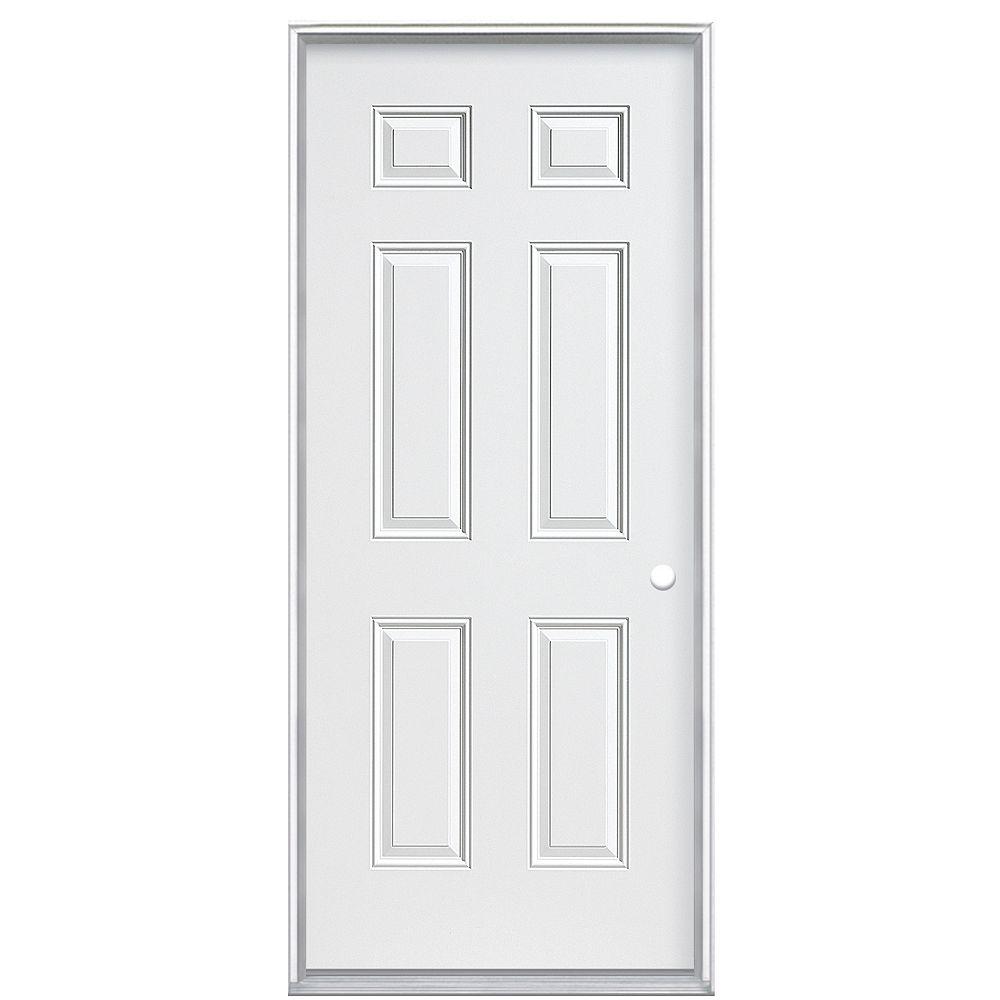 Veranda 34 pouces x 80 pouces x 4 9/16 pouces Panneau primaire 6 portes à gauche