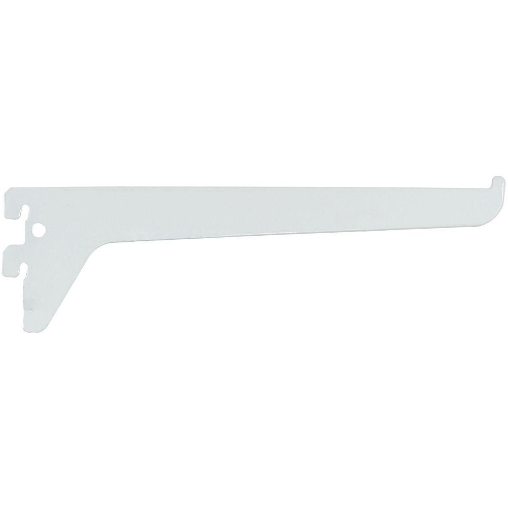 Rubbermaid Support À Canal Simple De 10 Po – Blanc