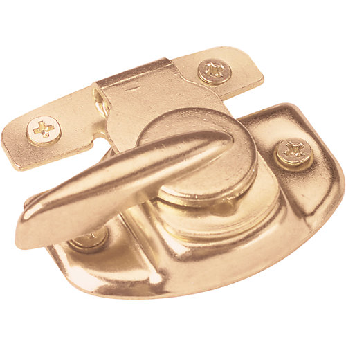 Brass Cam Action Sash Lock