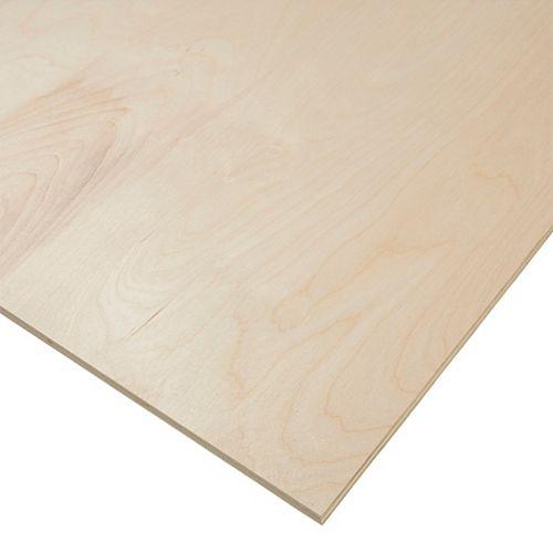 PureBond 1/2-inch. x 4 Feet. x 8 Feet. Purebond Birch