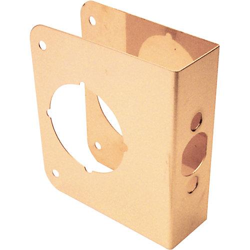 Renfort de porte en laiton de 4 po