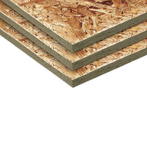 1/4 4x8 panneau à lamelles orientées
