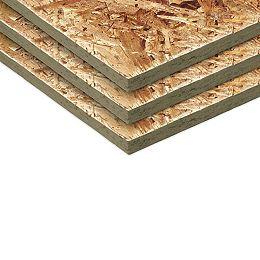 7/16 4x8 panneau à lamelles orientées