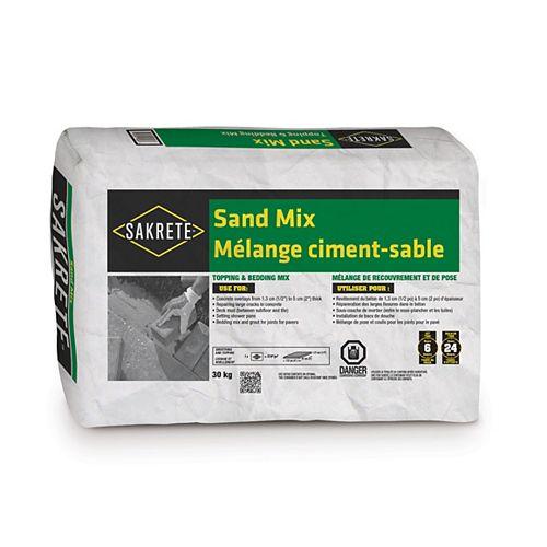 Mélange ciment-sable, 30 kg