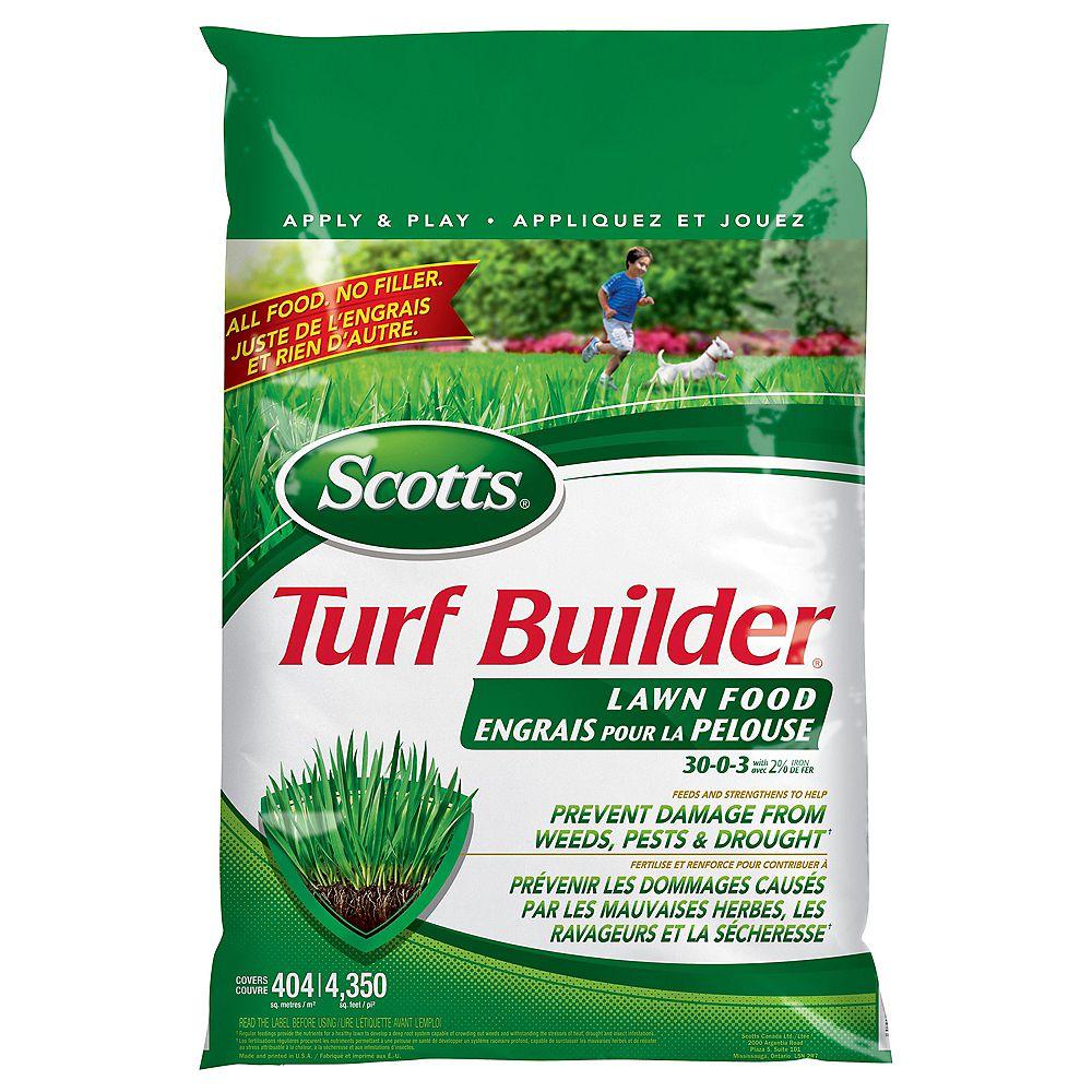 Scotts Turf Builder Lawn Food 30-0-3  5.2 kg  (404 m², 4,350 ft²)