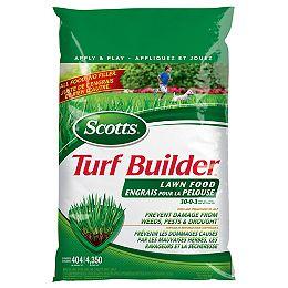 Turf Builder Lawn Food 30-0-3  5.2 kg  (404 m², 4,350 ft²)