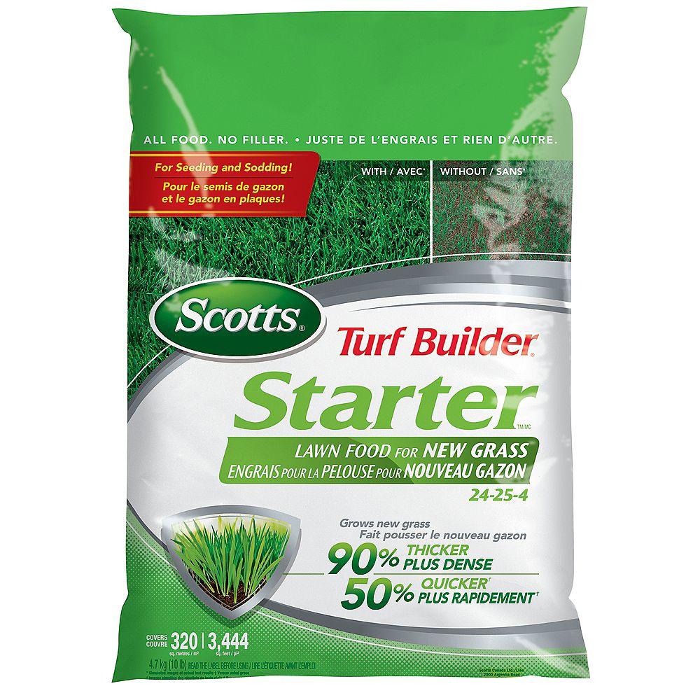 Scotts Turf Builder Engrais de démarrage 24-25-4  (4.7 kg)