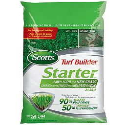 Turf Builder Starter Lawn Food 24-25-4  4.7kg     (320m², 3,444ft²)