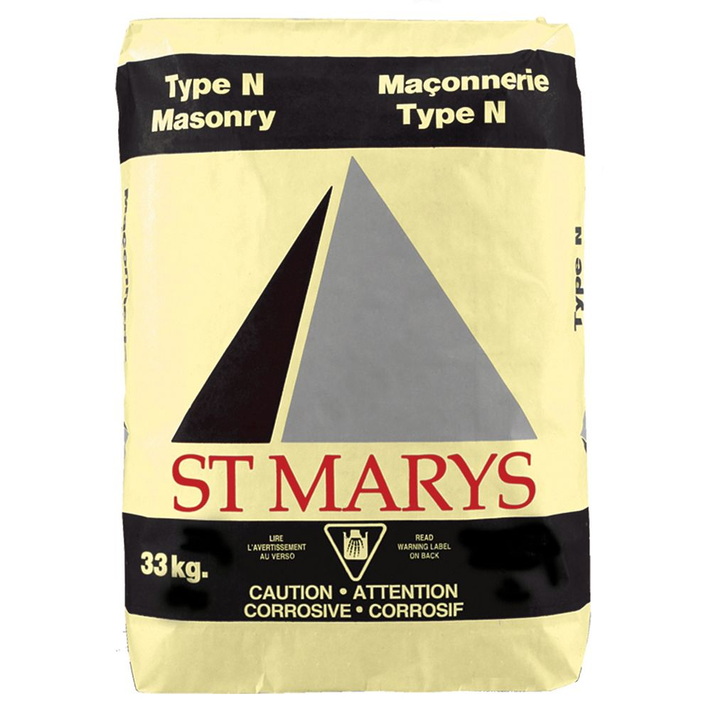 St. Mary Type N Masonry Cement, 30 KG