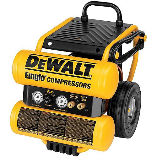 4-Gallon Electric Dolly Style Compressor