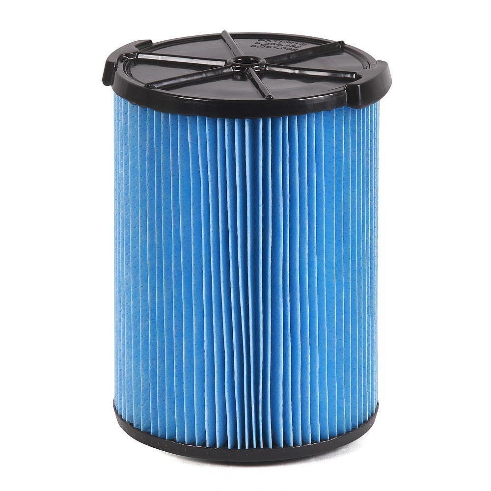 RIDGID Filtre pour poussières fines pour les aspirateurs sec/humide 18,9 l (5 gal.) et plus