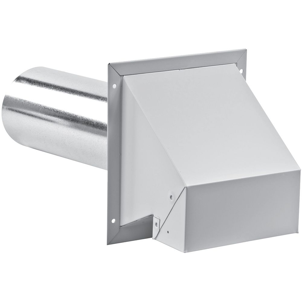 Imperial 3 Inch R2 Exhaust Hood with screen - white