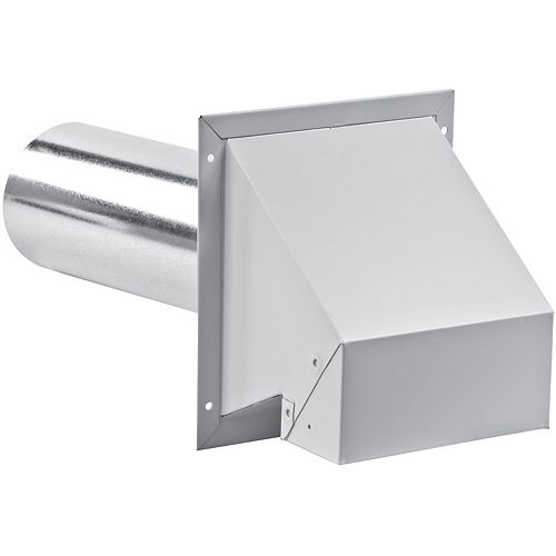3 Inch R2 Exhaust Hood with screen - white