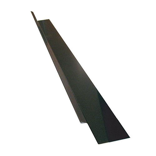 Peak Products Drip Flashing, 2 x 7/8 x 3/8 In. - Brown Galvanized
