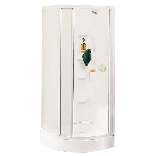 Iris B 2-Piece Shower Stall