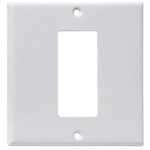 Back & Face Plate, White