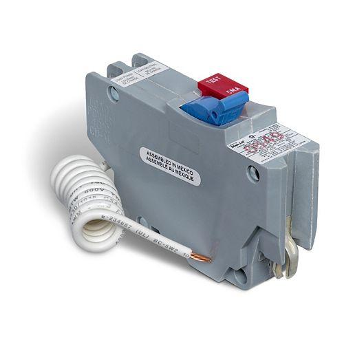 Schneider Electric  Federal Pioneer Single Pole 15 Amp Stab-lok Plug-On GFCI Circuit Breaker