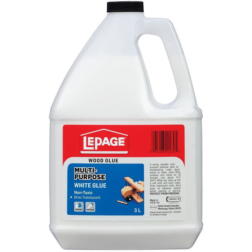 LePage Colle Blanche Multi-Usage 3L