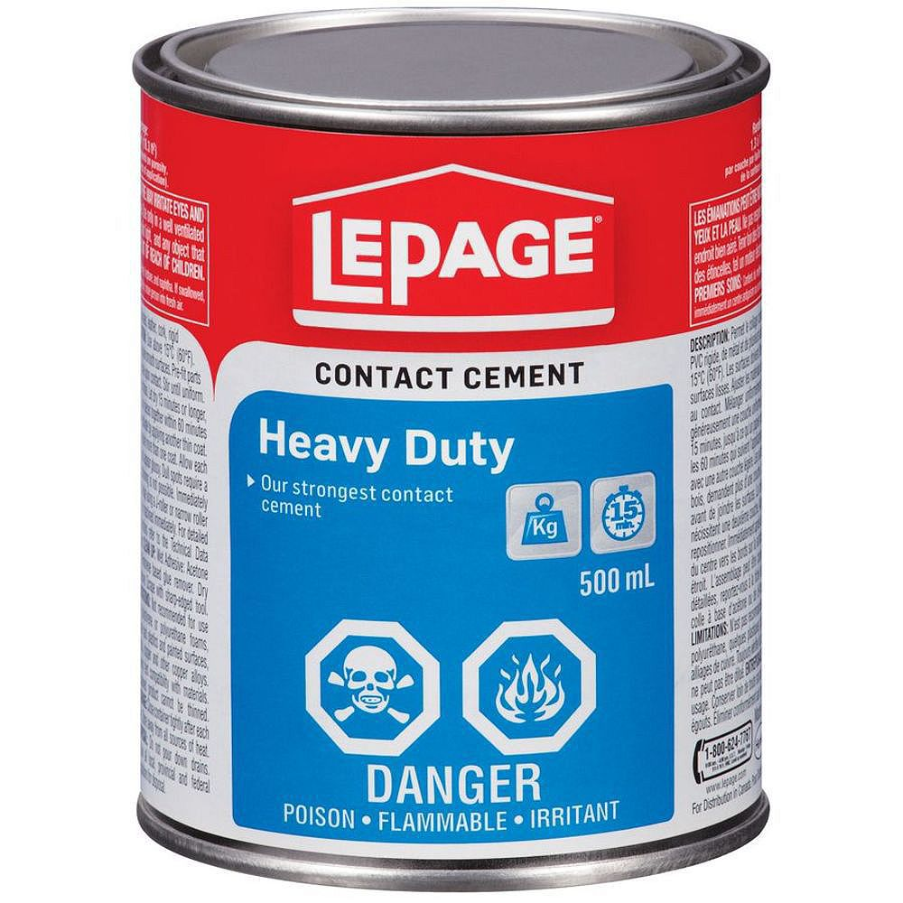 LePage LePage Ultra Robuste Colle Contact, 500 ml