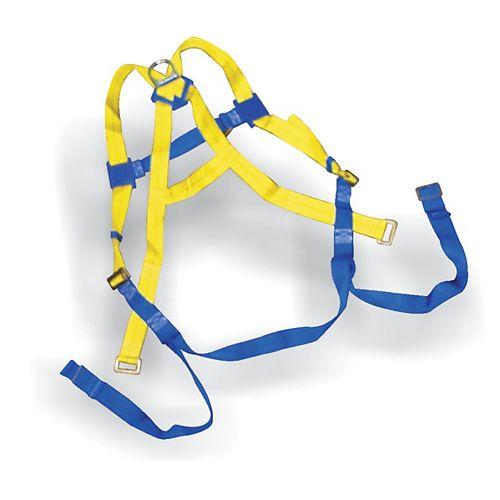 Full body adjustable harness