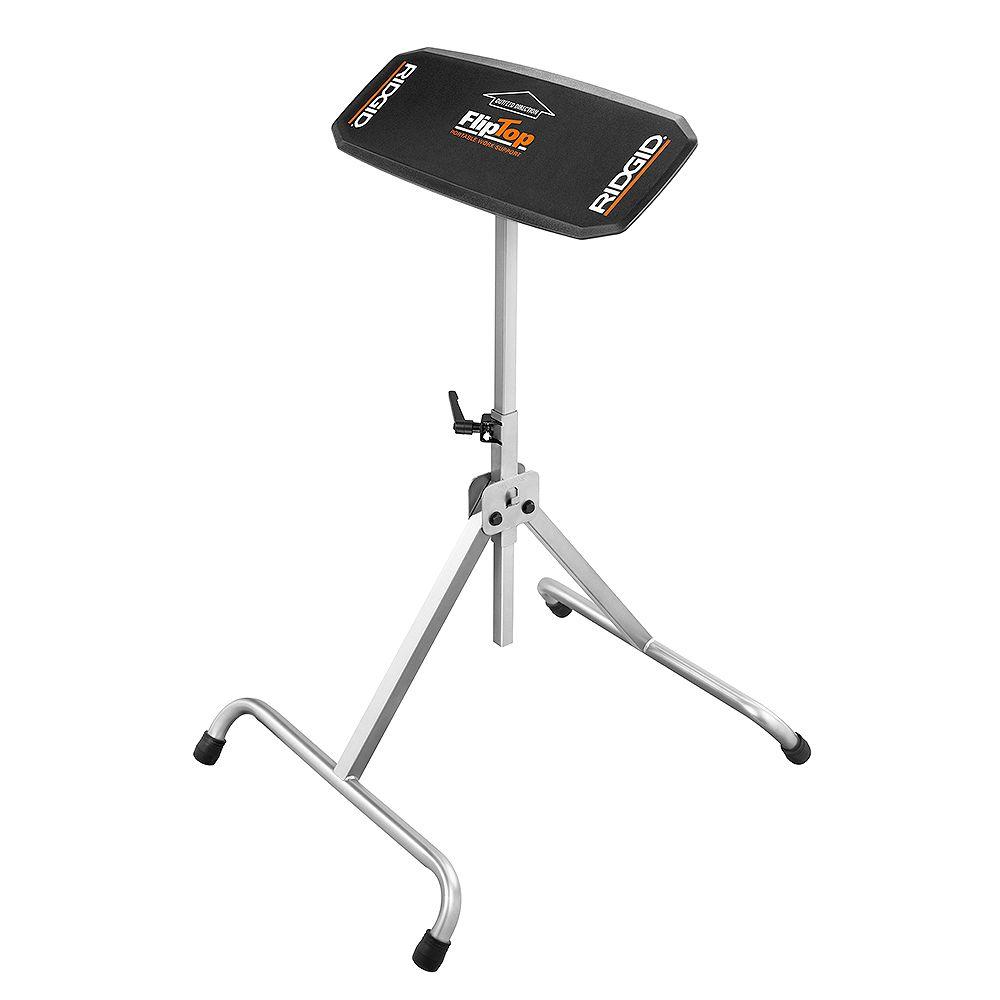 RIDGID Flip Top Portable Work Support Stand