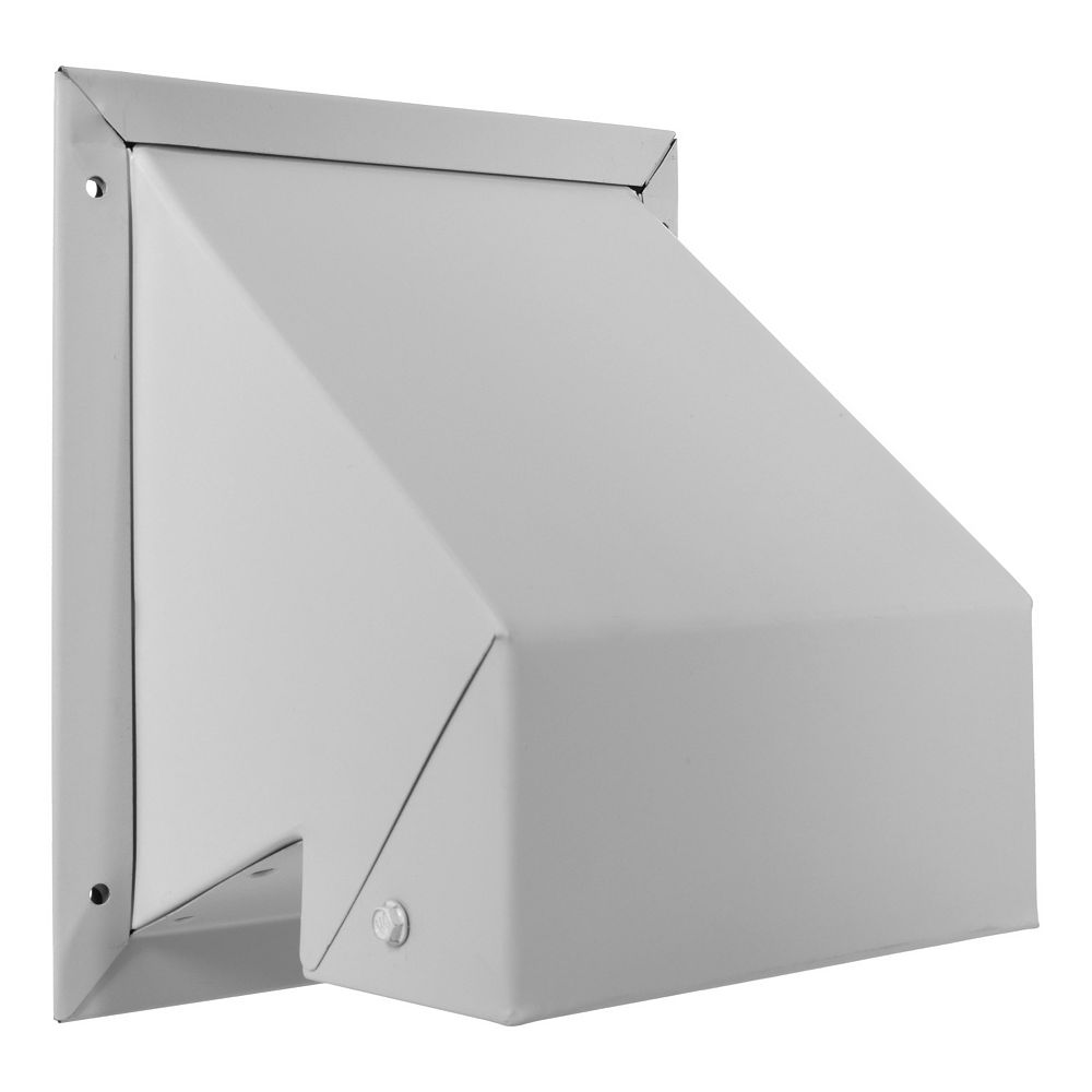 Imperial White R2 Wall Exhaust Cap With Screen - 4 Inch