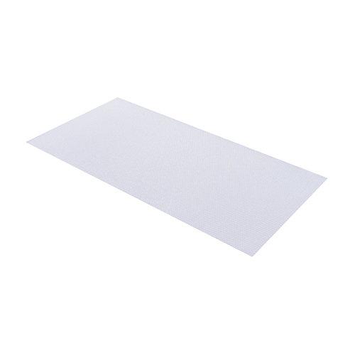 Panneau déclairage en acrylique transparent prismatique de 60 cm x 121 cm (23,75 po x 47,75 po)