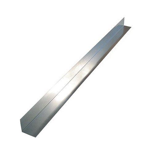 Solin angulaire, 4 x 4  x 10 p. - Galvanisé laminé