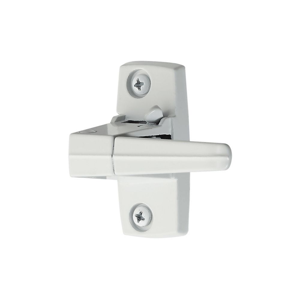 Ideal Security White Replacement Inside Lever with Strike