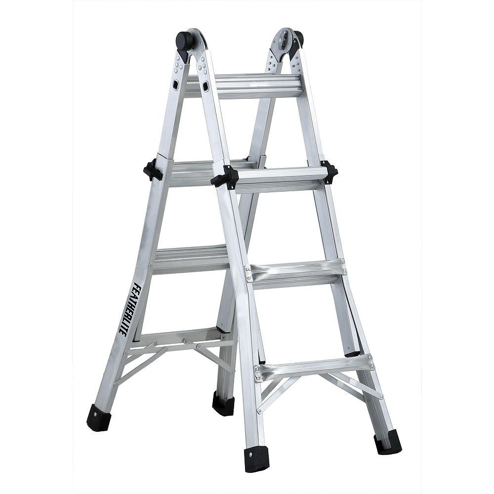 Featherlite 13 ft. Multi-Purpose Ladder Grade IA