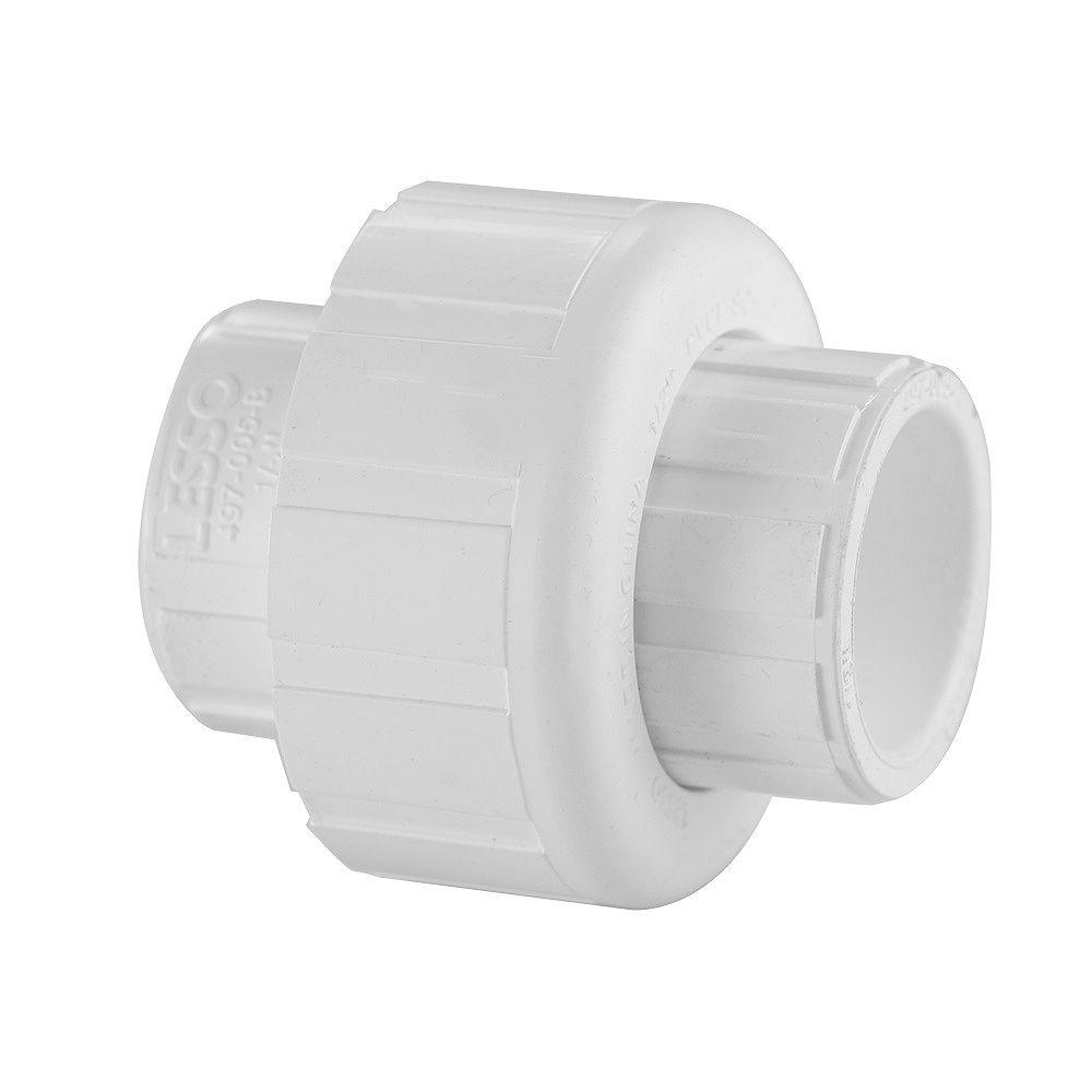 LESSO PVC SCH 40 Union Slipxslip 1 Inch