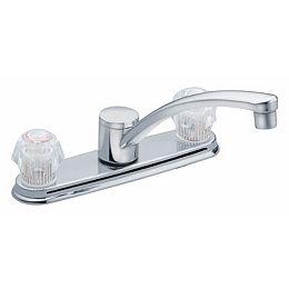 Adler 2-Handle Kitchen Faucet in Chrome