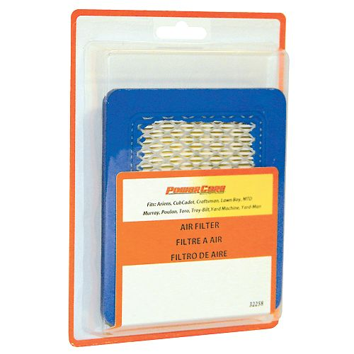 Air Filter for 3 to 5 HP Horizontal Engines or 3.5 to 6 HP Quantum Engines