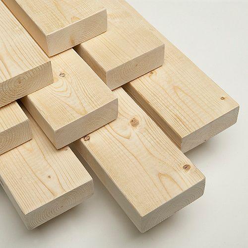 2x4x7 Bois de construction