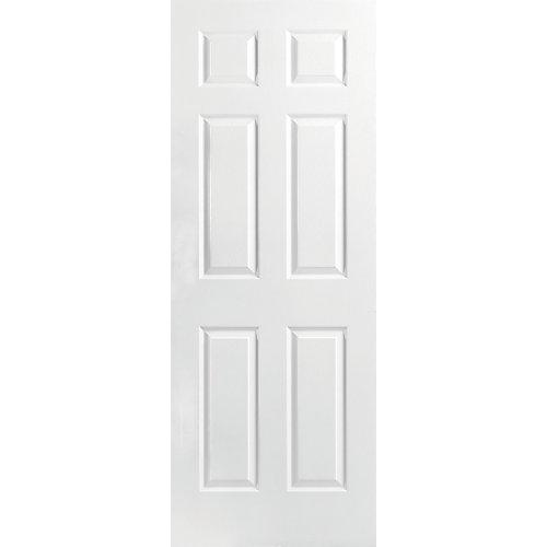 28-inch x 80-inch x 1 3/8-inch Molded 6 Panel Interior Door