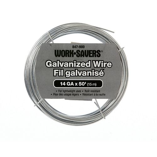 Paulin Galv. Wire-Steel Coiled 14G X 15M