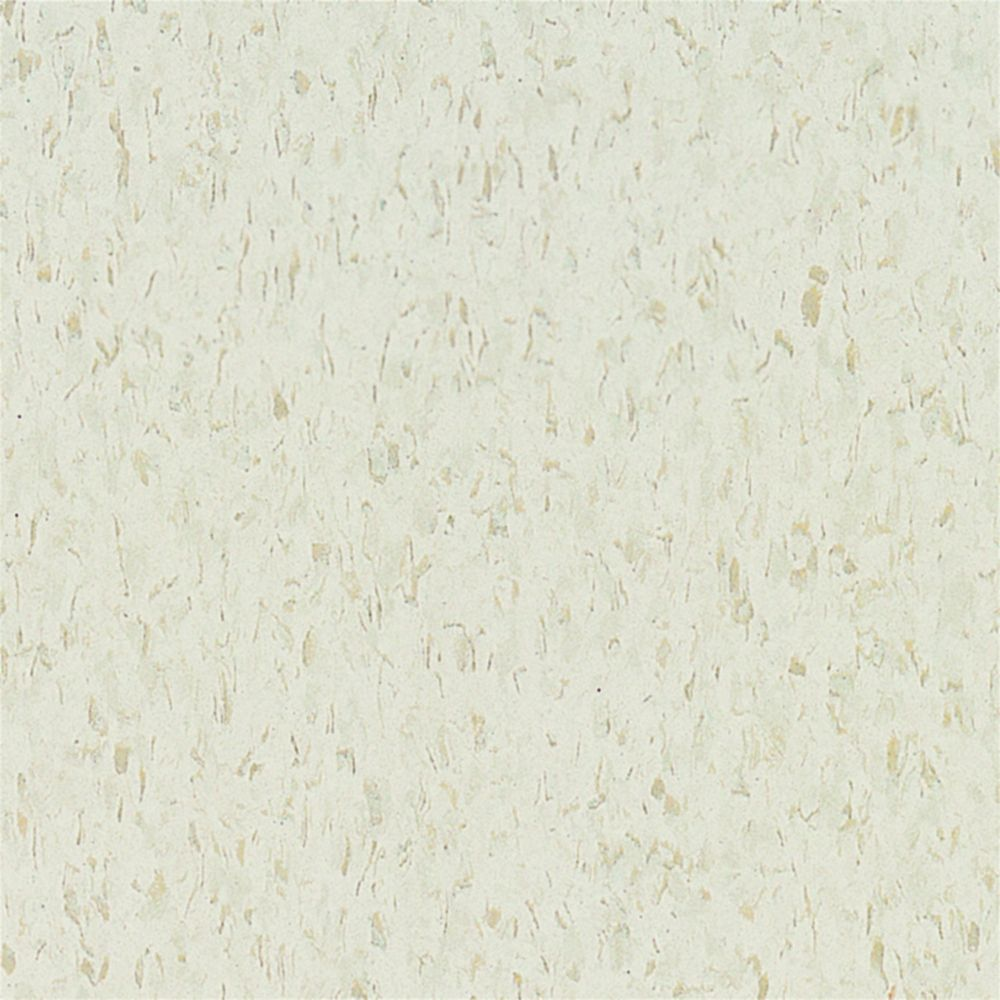 Armstrong Imperial Texture 12-inch x 12-inch Cool White Vinyl Tile (45 sq.ft. / case)