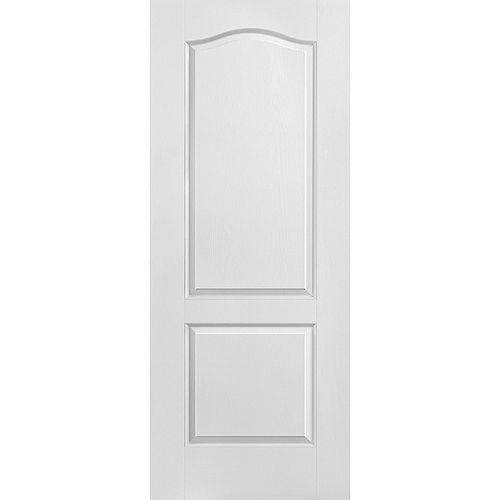 24-inch x 80-inch x 1 3/8-inch 2 Panel Door Slab