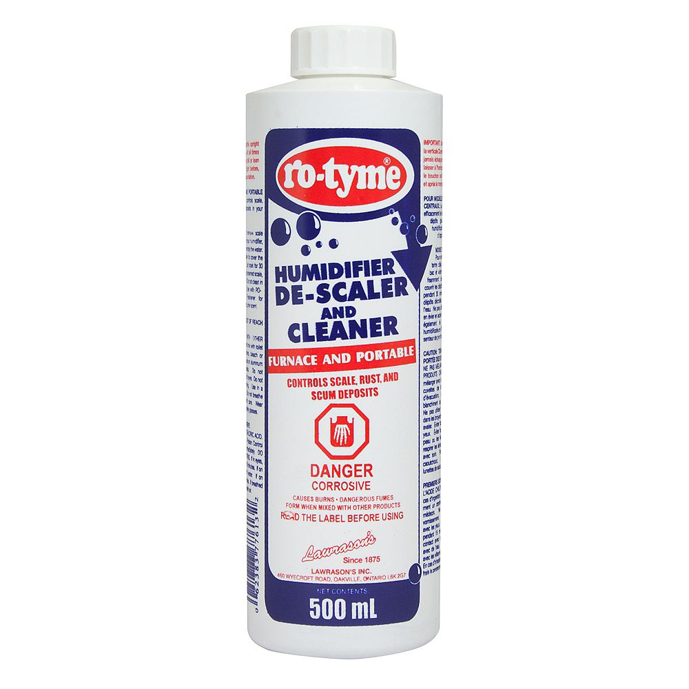 Ro-Tyme Humidifier De-scaler and Cleaner 500 mL