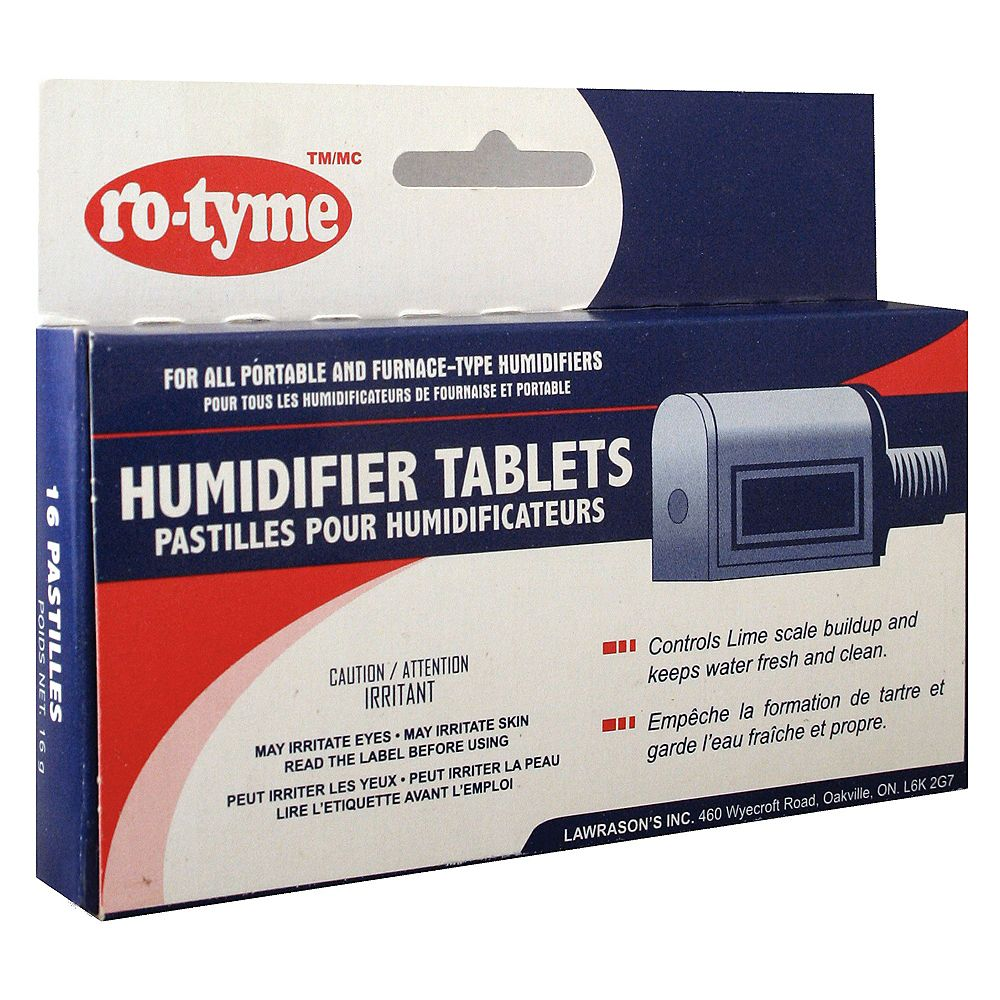Ro-Tyme Humidifier Tablets 12 Pack