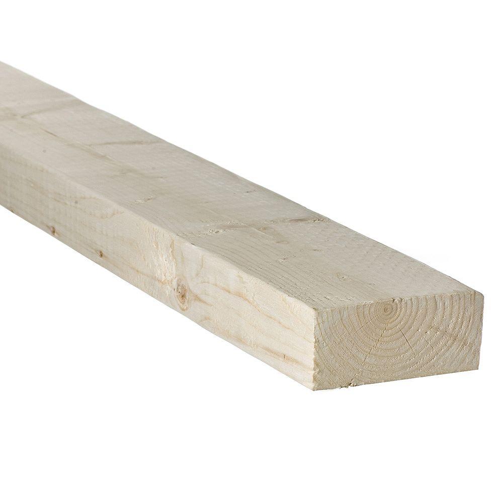 HDG 2x4x8 pin noueux